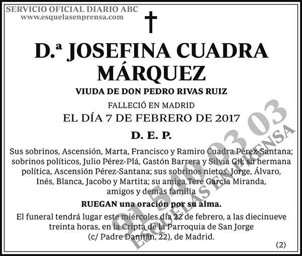 Josefina Cuadra Márquez